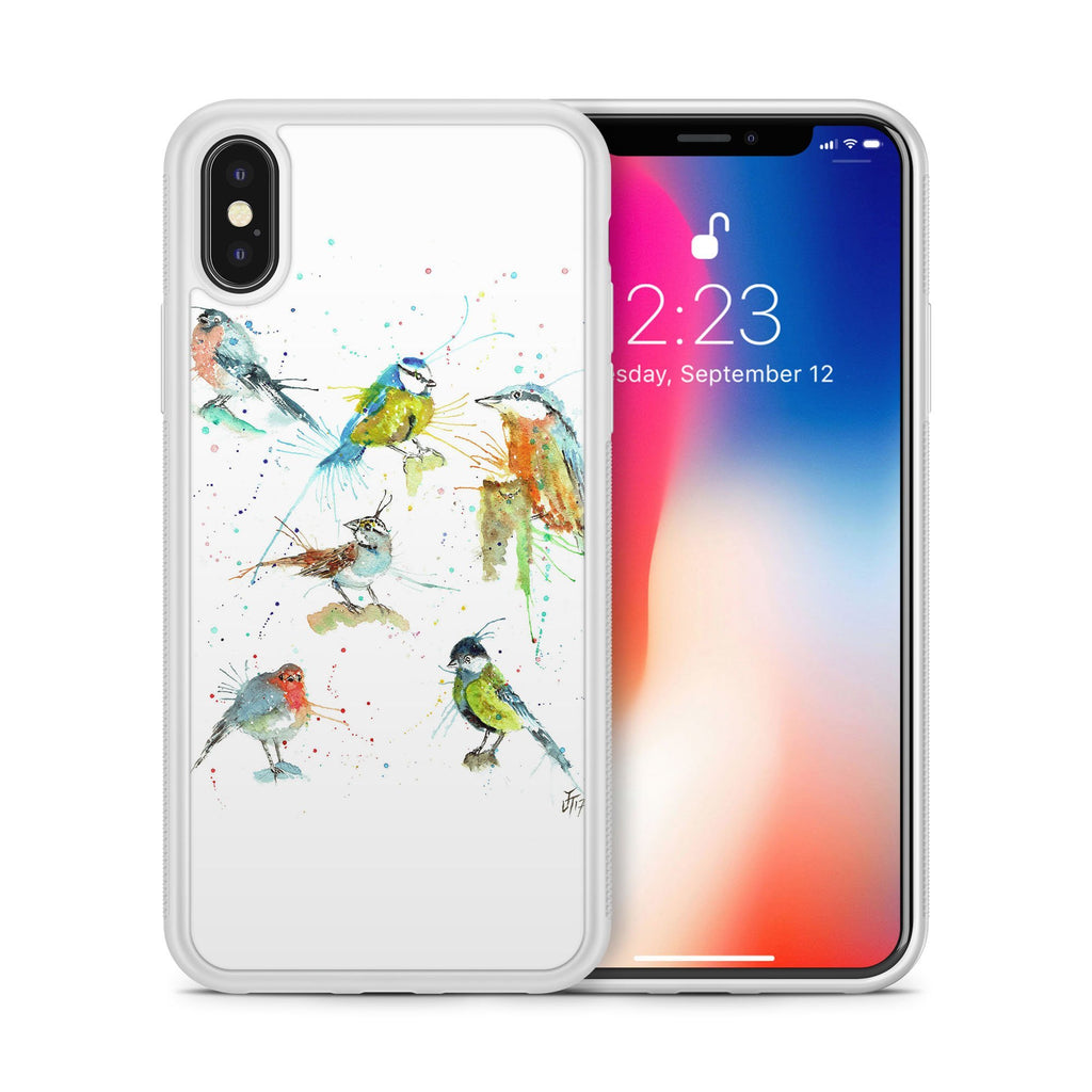 Brit Birds Bumper Phone Case