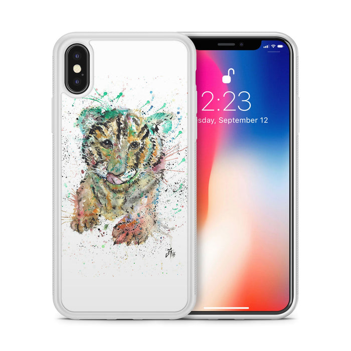 """Franklin"" Tiger Cub Bumper Phone Case"