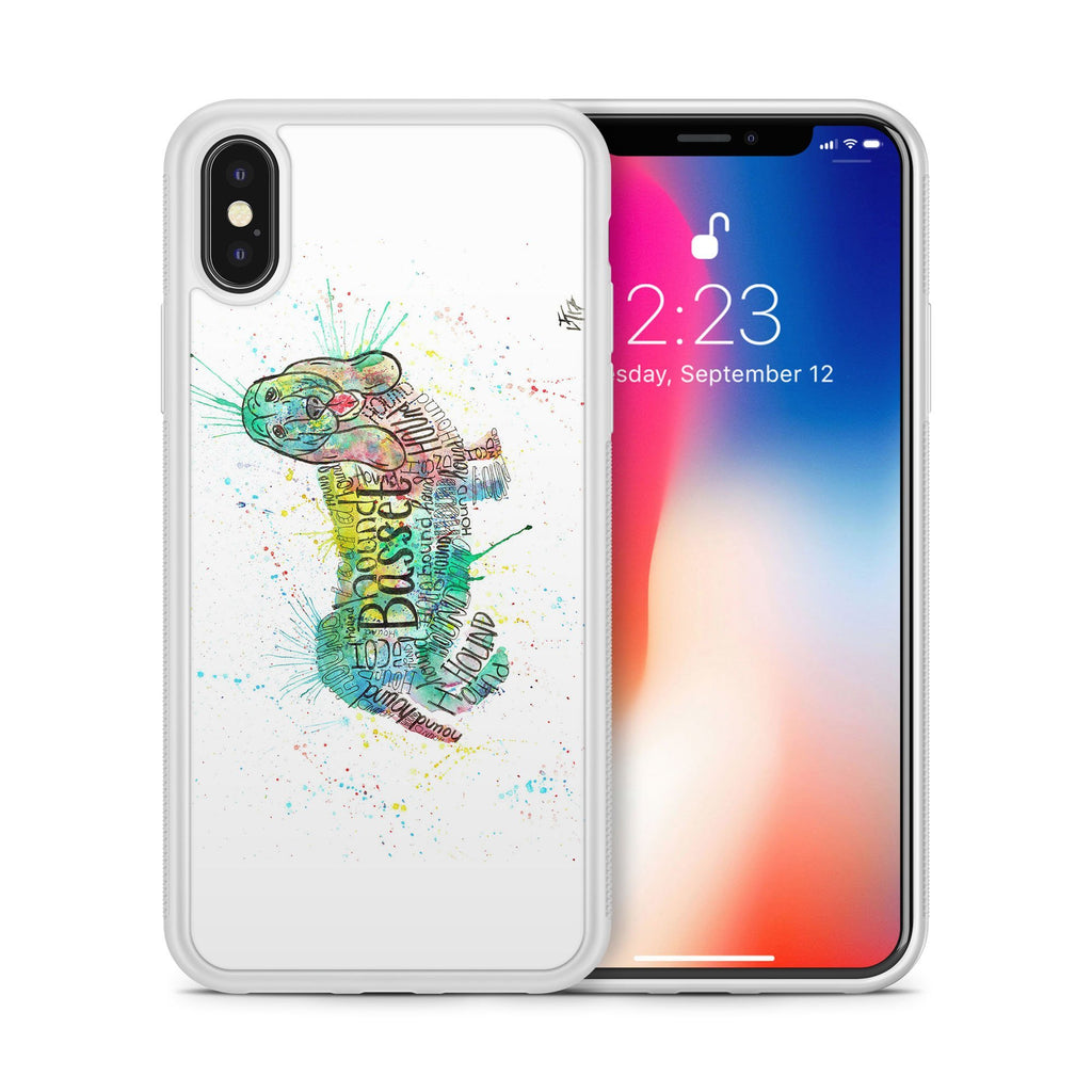 Basset Splash Bumper Phone Case