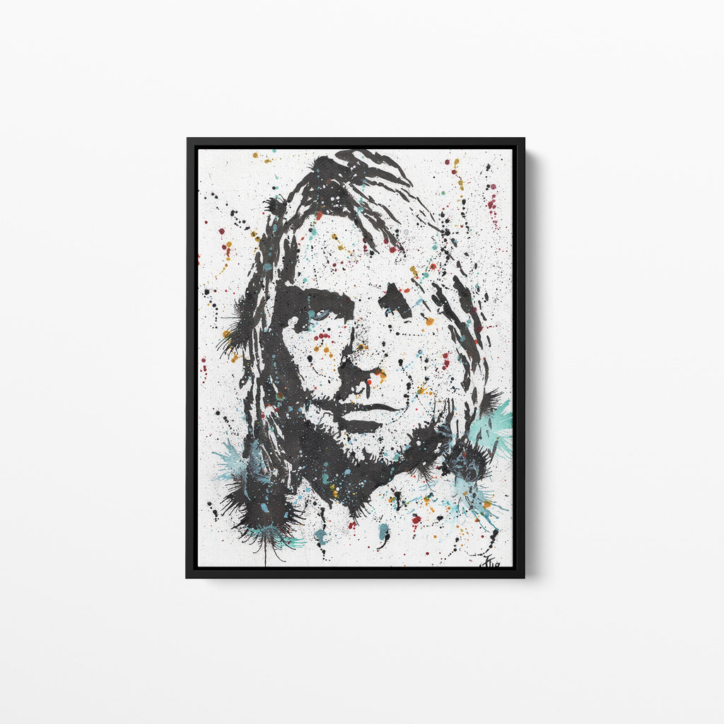 Kurt Framed Canvas Print