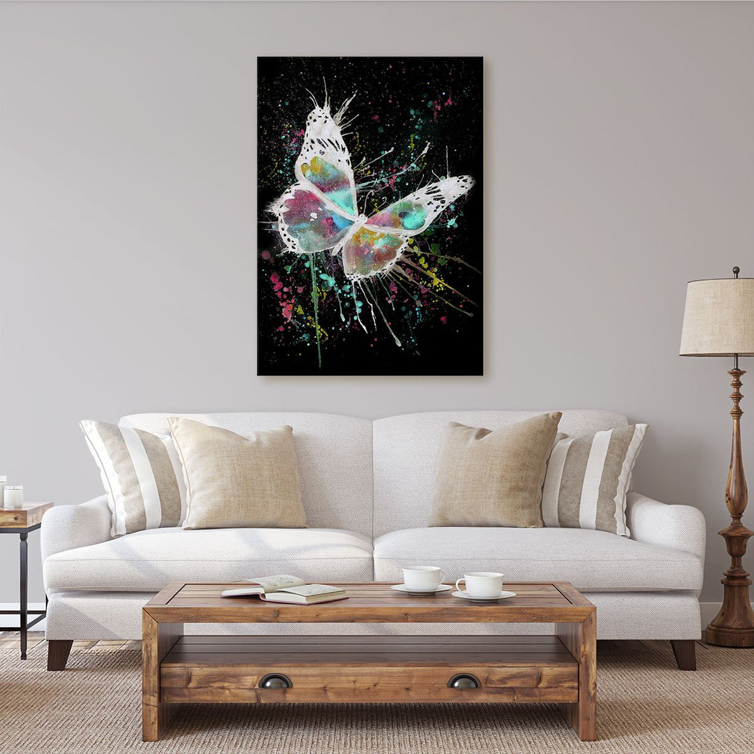 """Flutter"" Butterfly Enchanted Canvas Print"