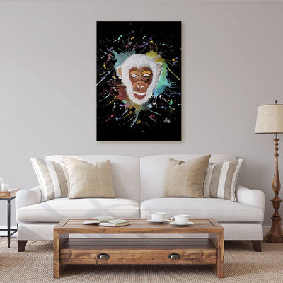 """Ciril"" Monkey Enchanted Canvas Print"
