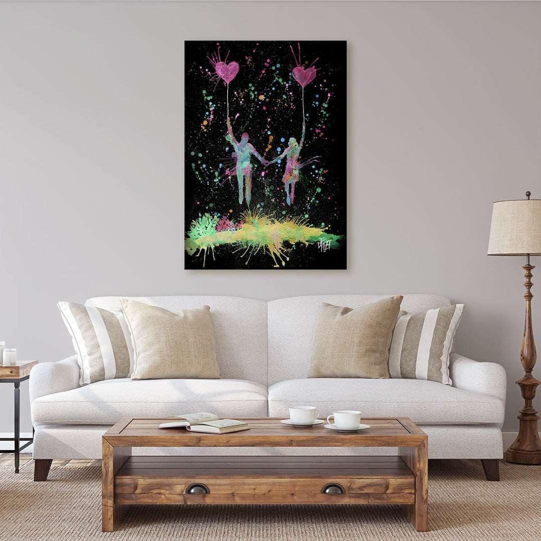 Fly Away With Me Enchanted Canvas Print