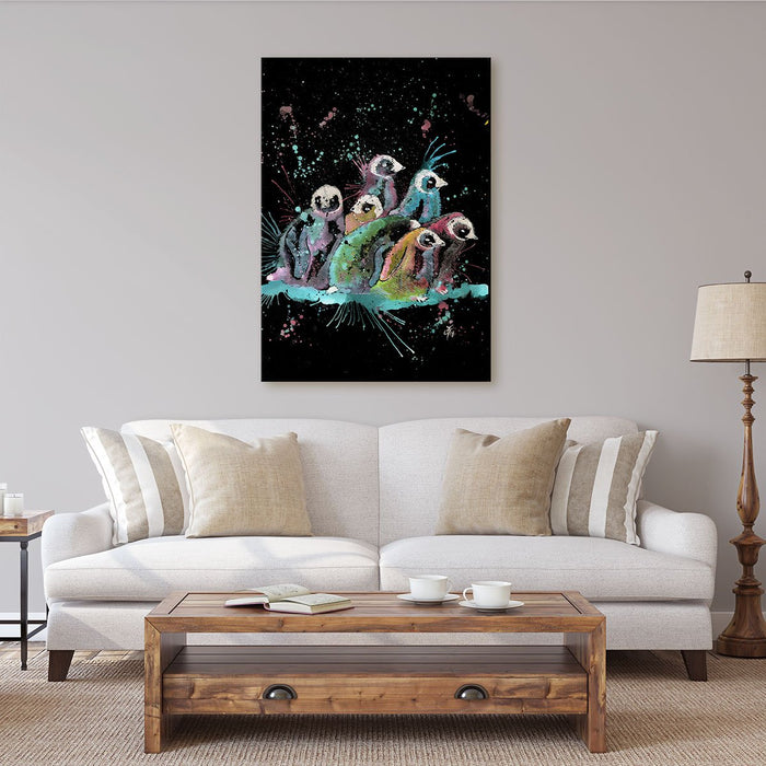 Clan Enchanted Canvas Print