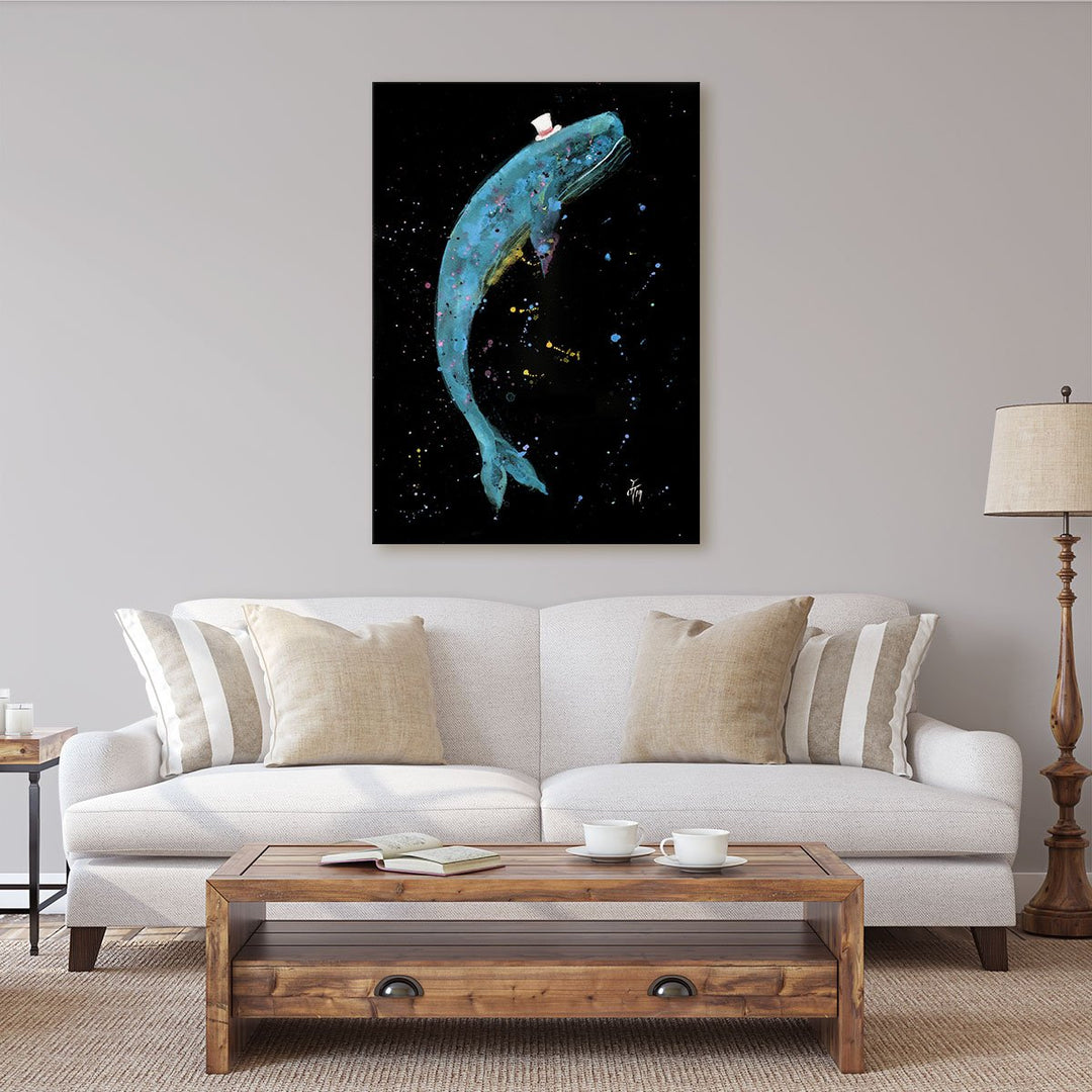 Burt Enchanted Canvas Print