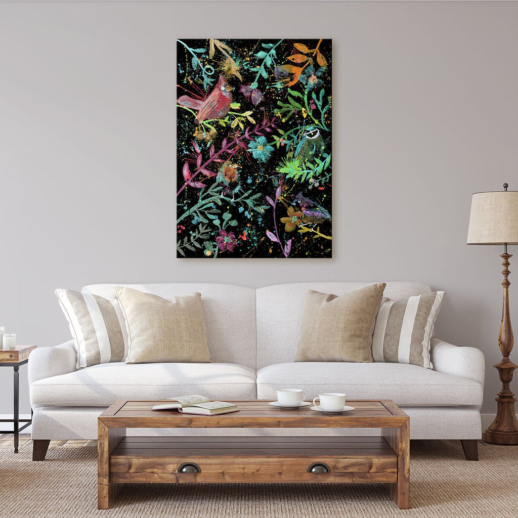 Hedgerow Enchanted Canvas Print