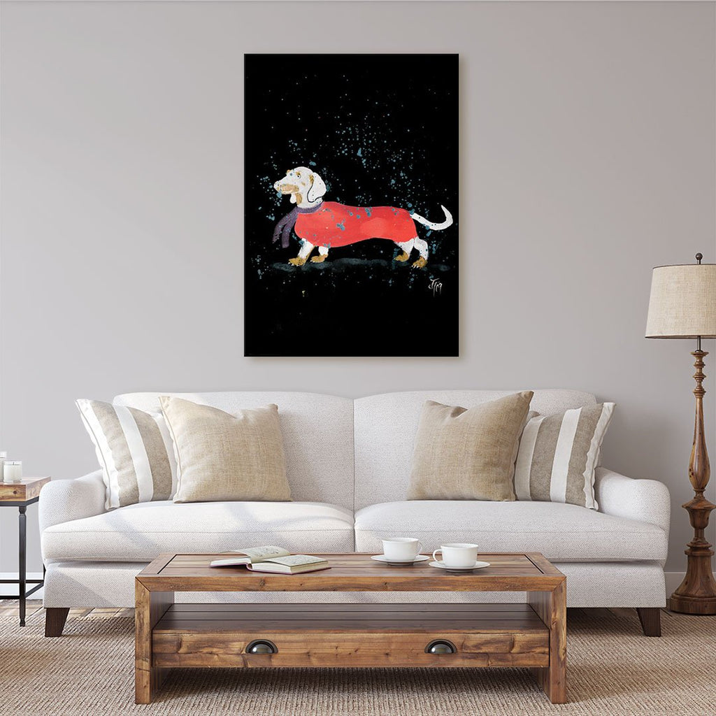 Sausage Roll Enchanted Canvas Print
