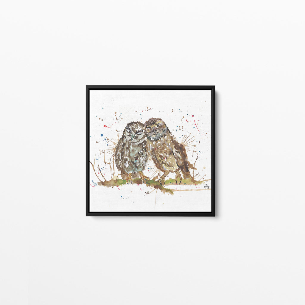 My Favourite Owl Square Framed Canvas Print