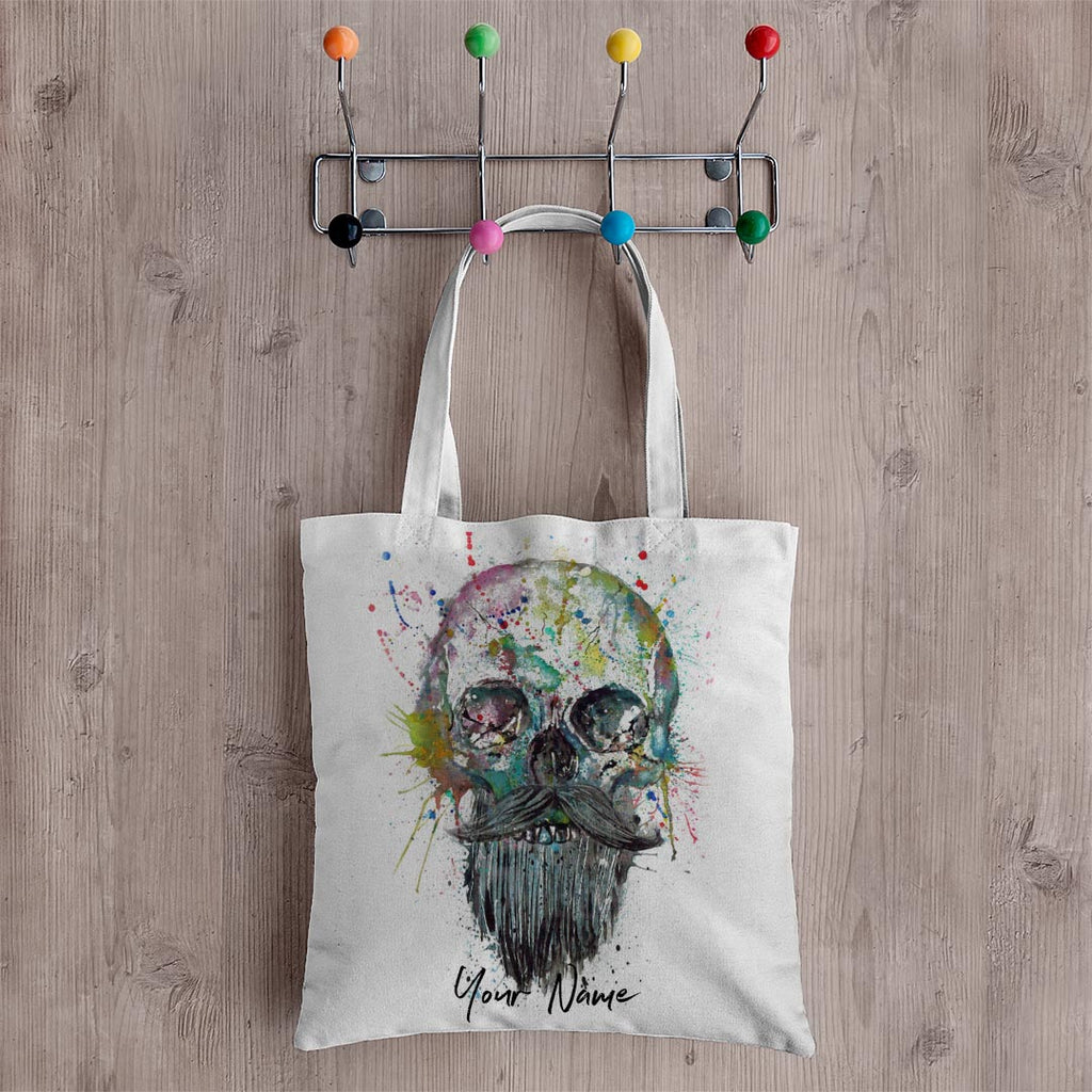 Bebeard Personalised Canvas Tote Bag
