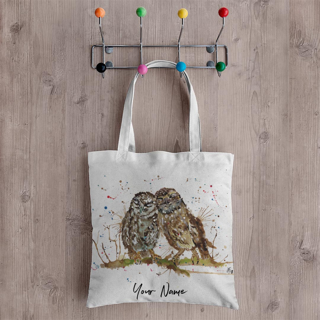 My Favourite Owl Personalised Canvas Tote Bag