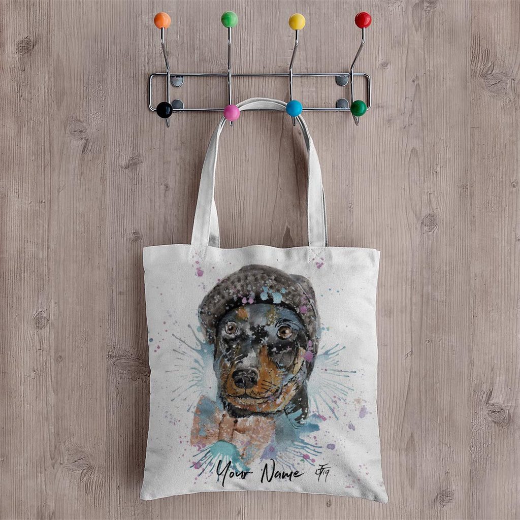 Mitch Personalised Canvas Tote Bag