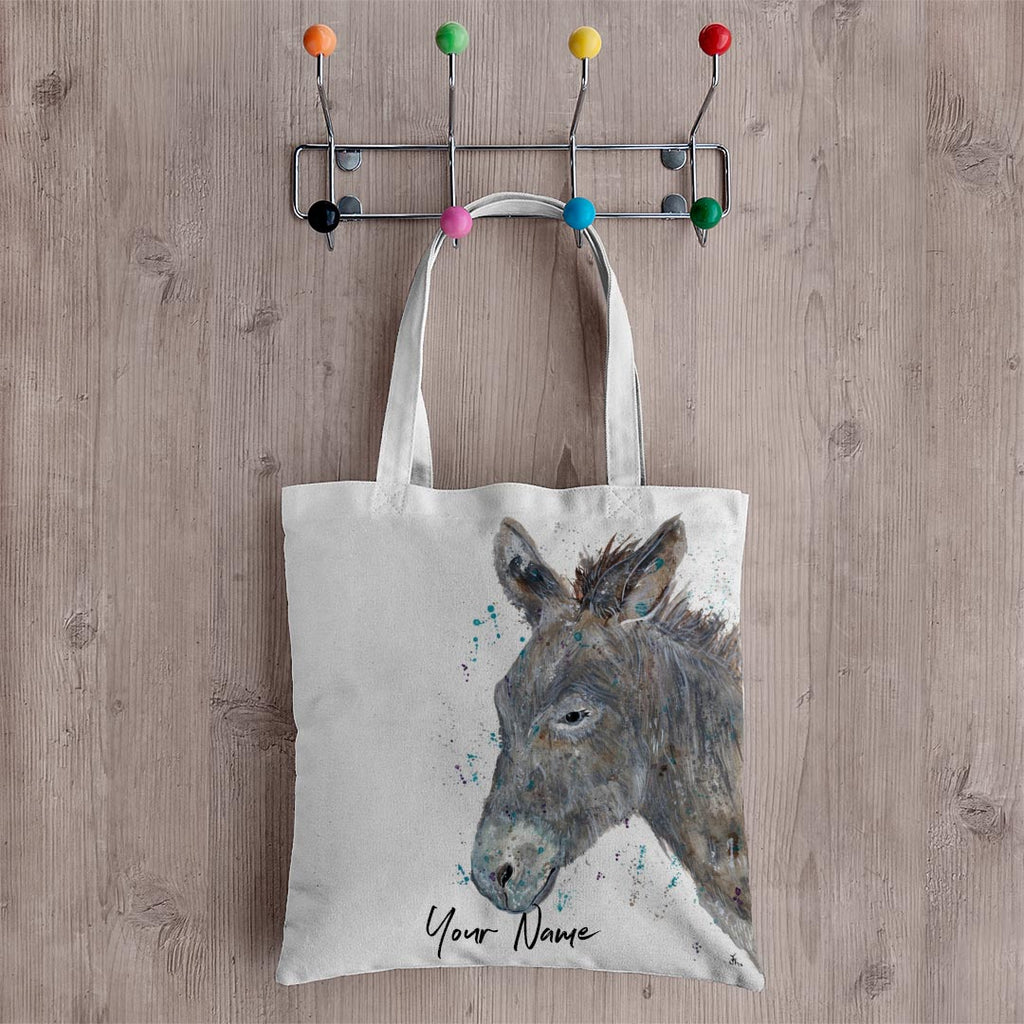 Dennis Donkey Personalised Canvas Tote Bag