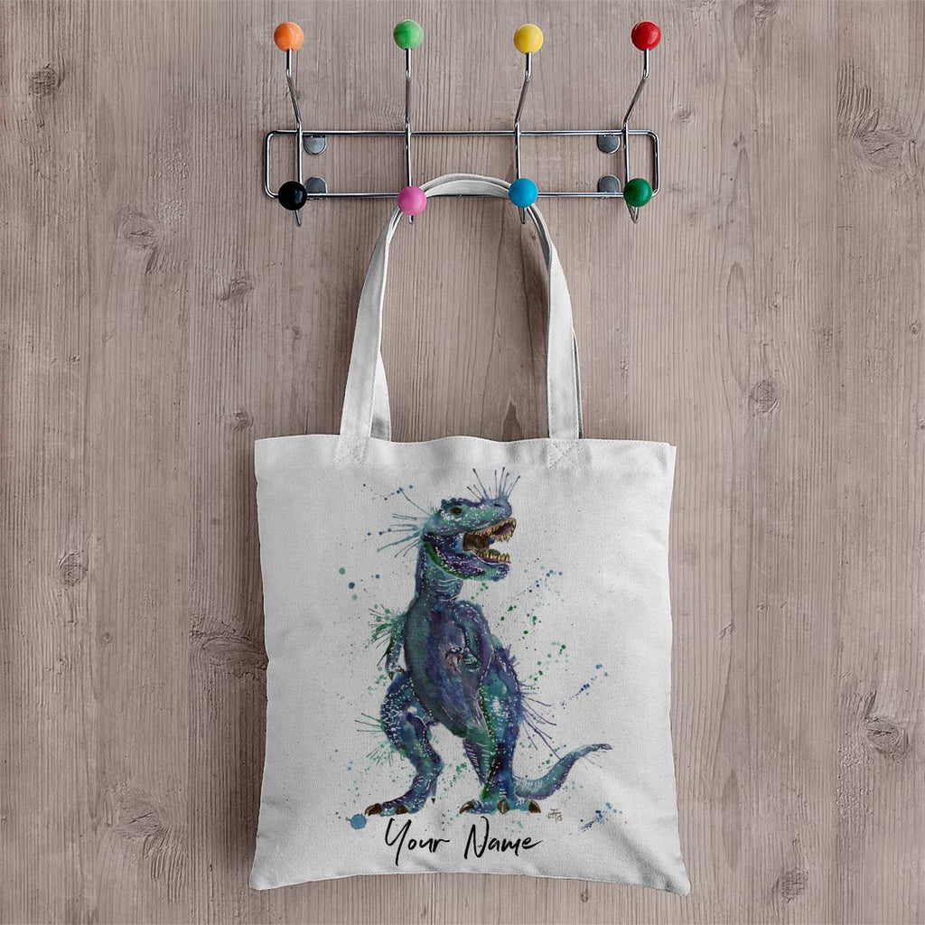 Rex Personalised Canvas Tote Bag