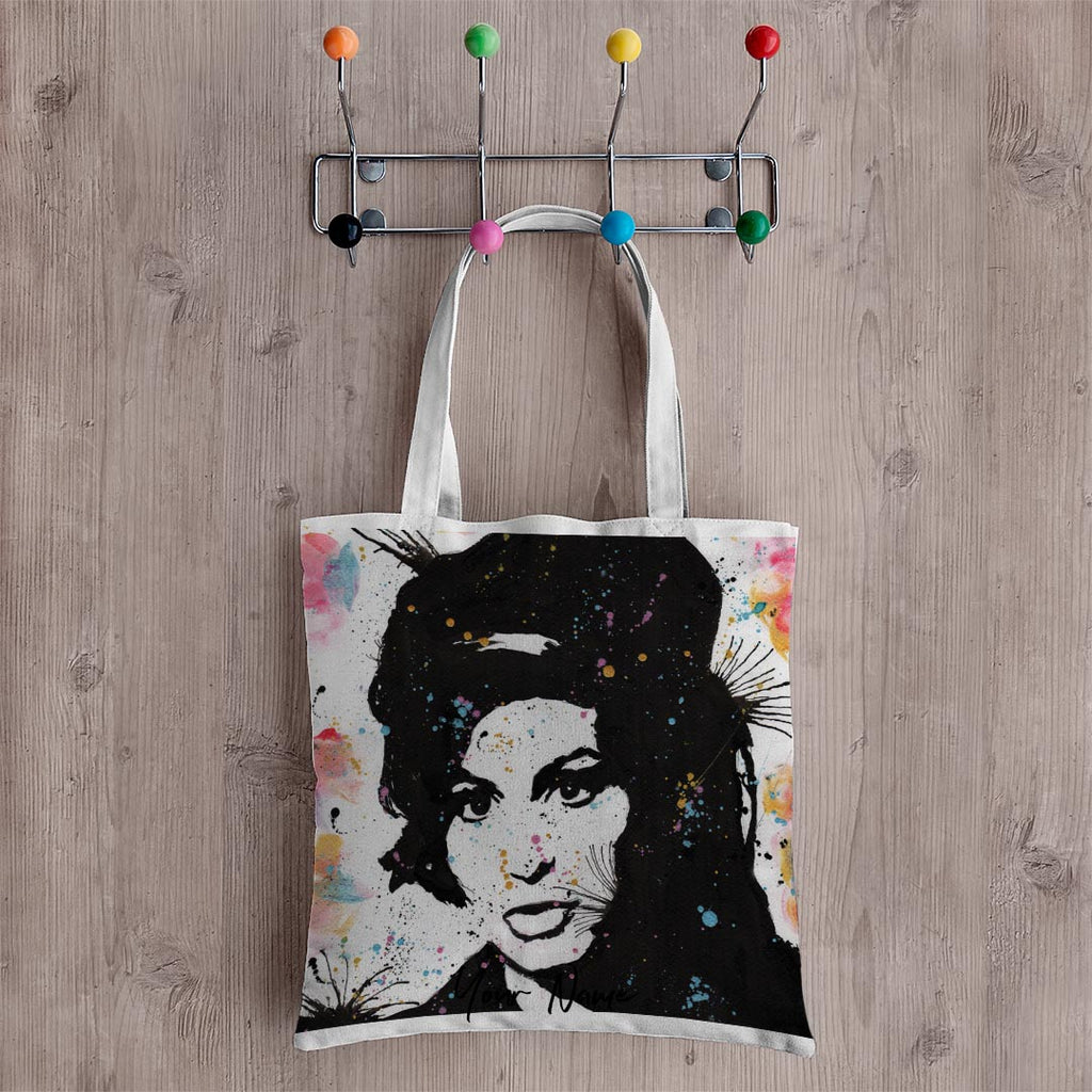 Amy Personalised Canvas Tote Bag