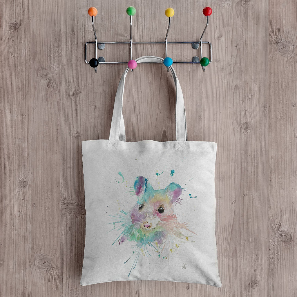 """Small"" Mouse Canvas Tote Bag"