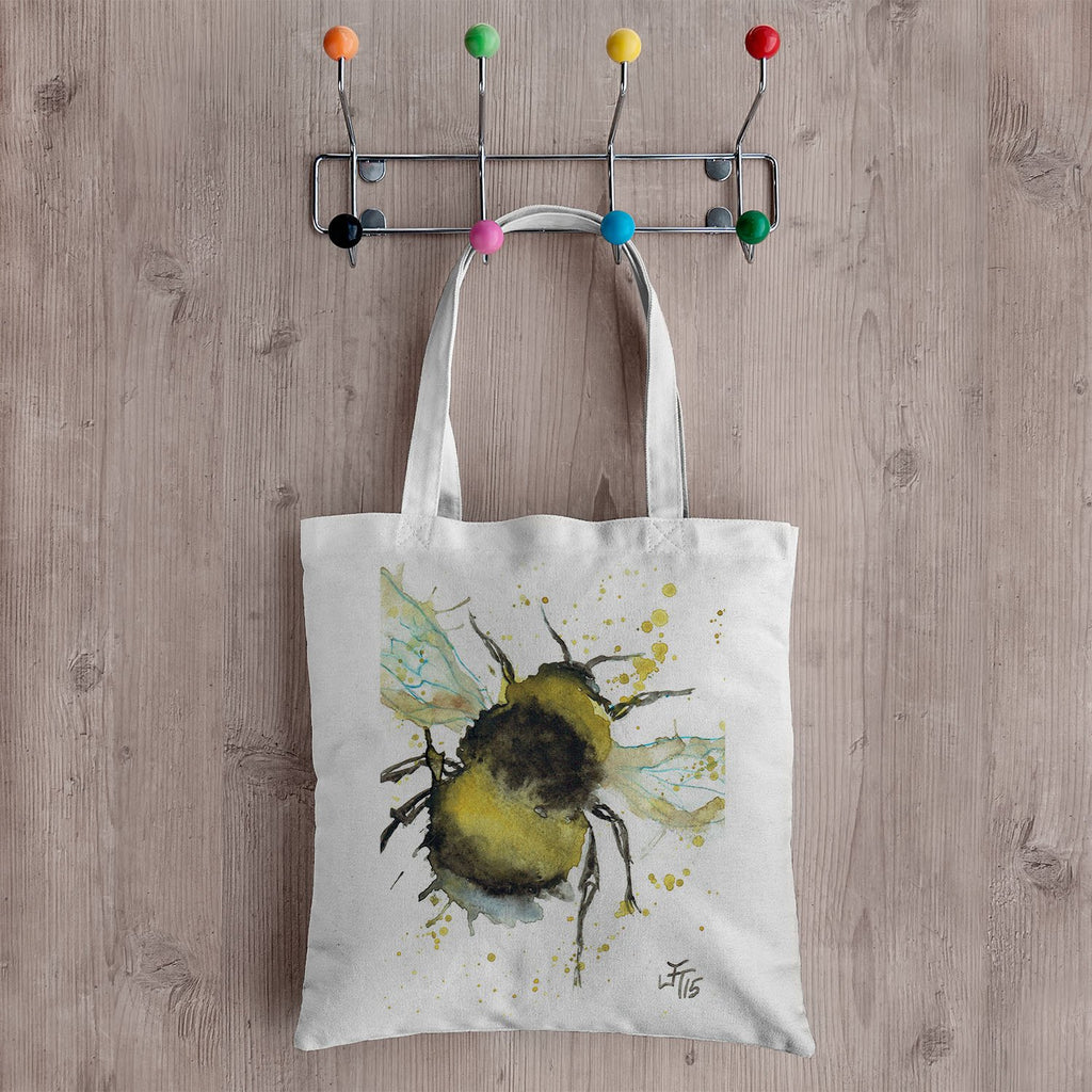 Bumble Bee Canvas Tote Bag