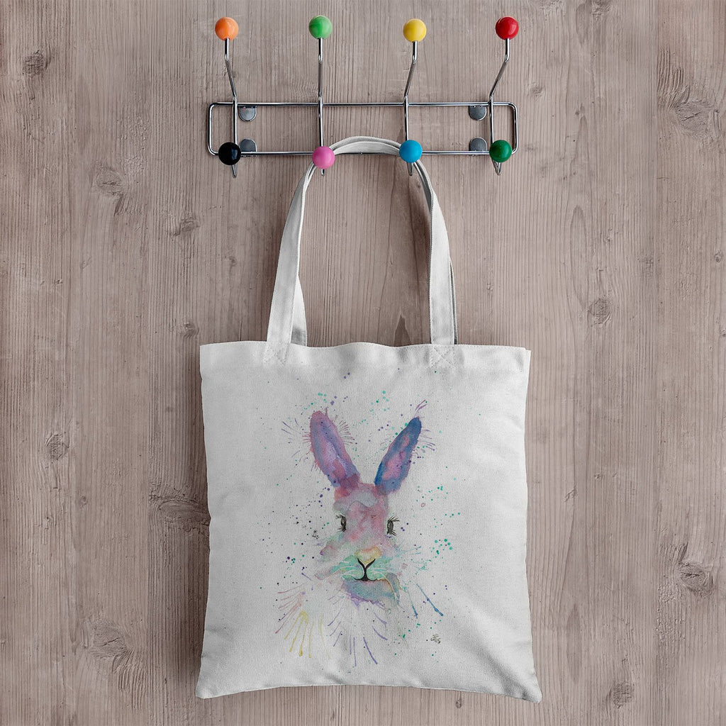 Mrs Bunny Canvas Tote Bag