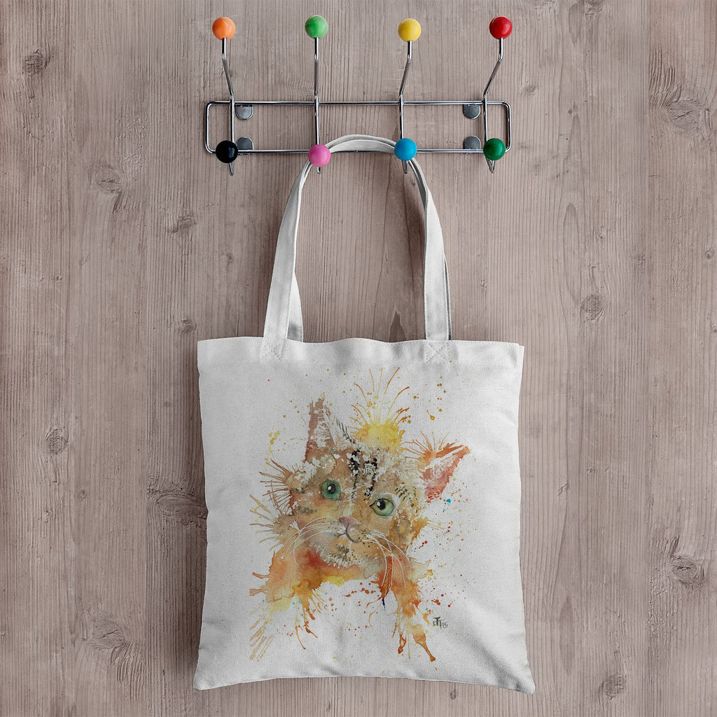 Mew Canvas Tote Bag