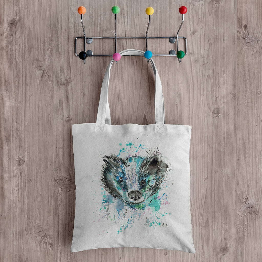 """Baz"" Badger Canvas Tote Bag"