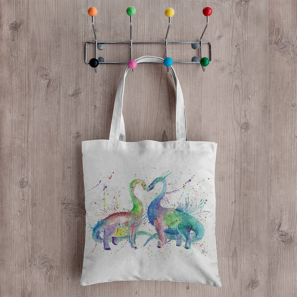 Love Dinosaurs Canvas Tote Bag