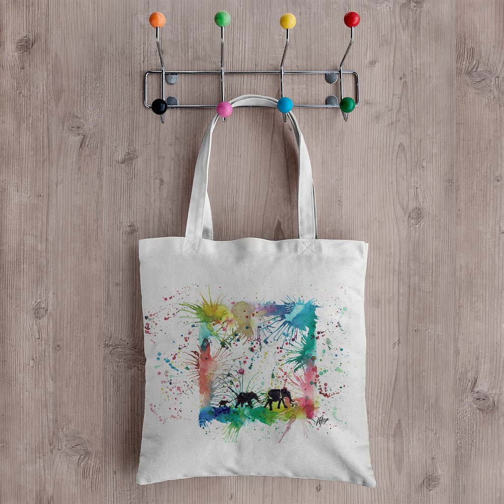 Herd Canvas Tote Bag