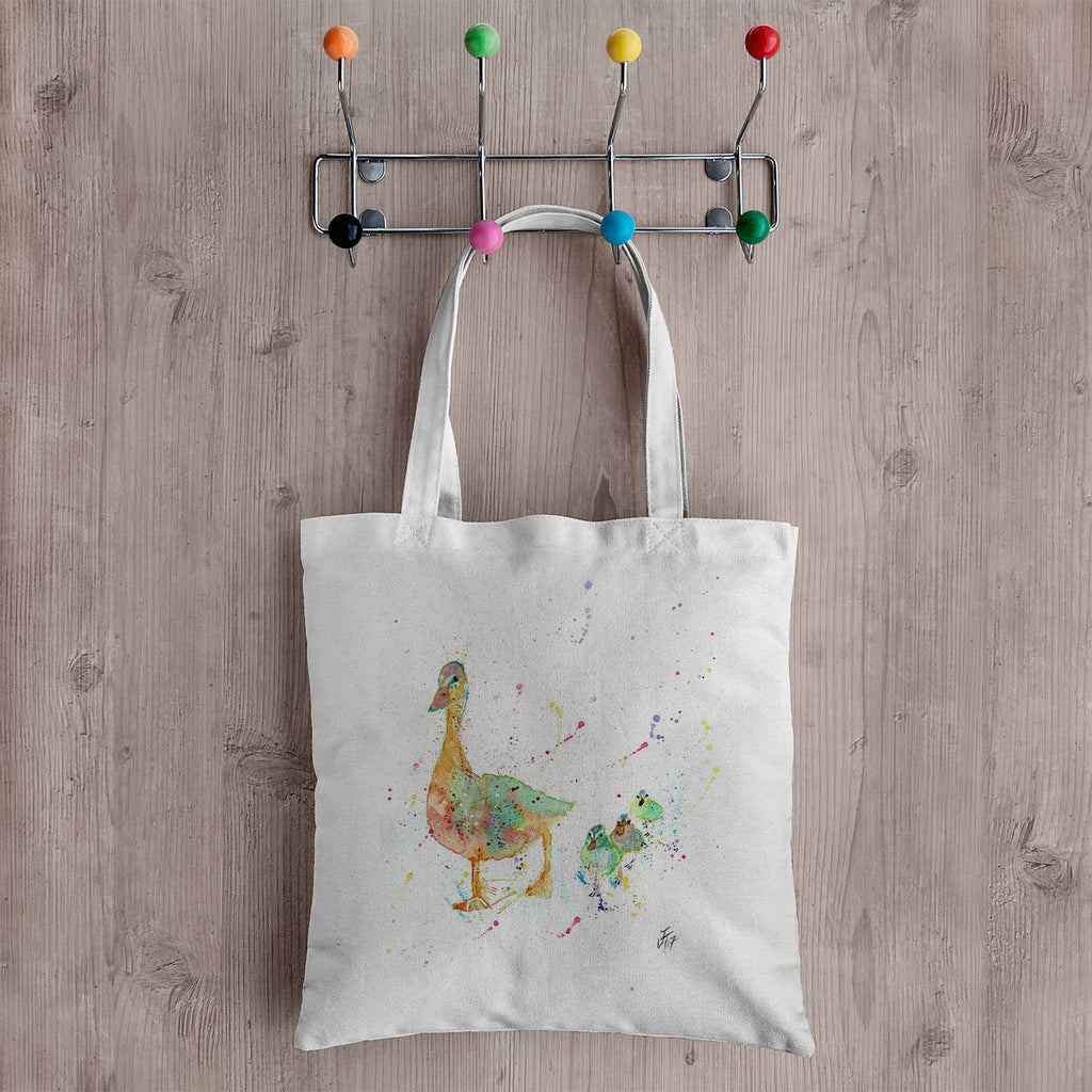 Waddle Canvas Tote Bag