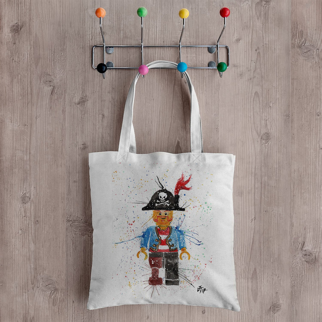 Arggghhh Pirate Canvas Tote Bag