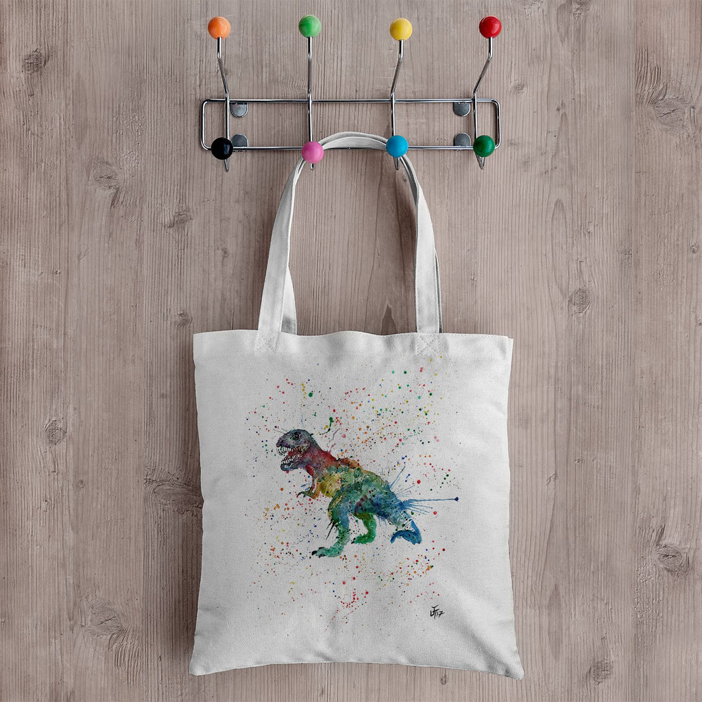 """Gary"" T-Rex Canvas Tote Bag"