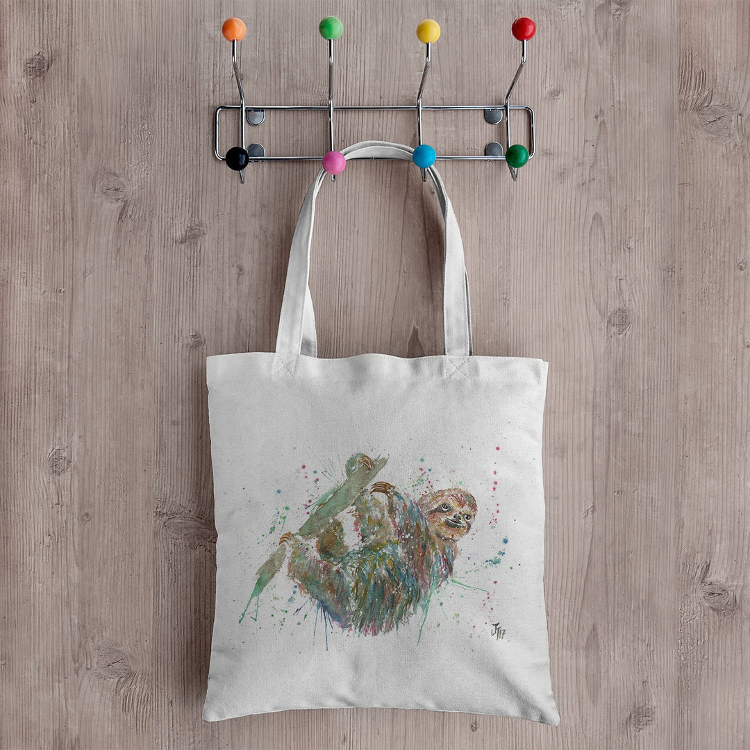 Hey Mr Sloth Canvas Tote Bag