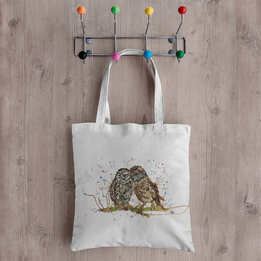 My Favourite Owl Canvas Tote Bag