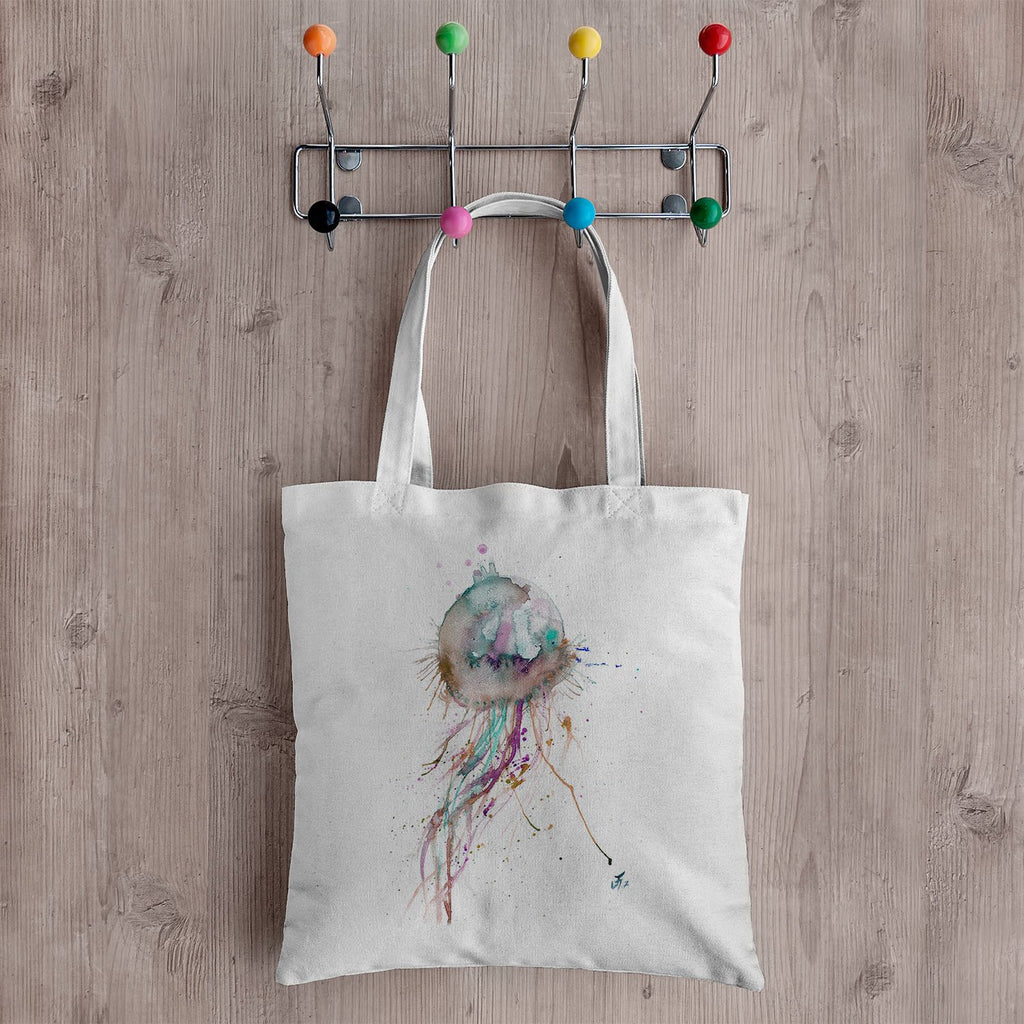 Jellyfish Canvas Tote Bag