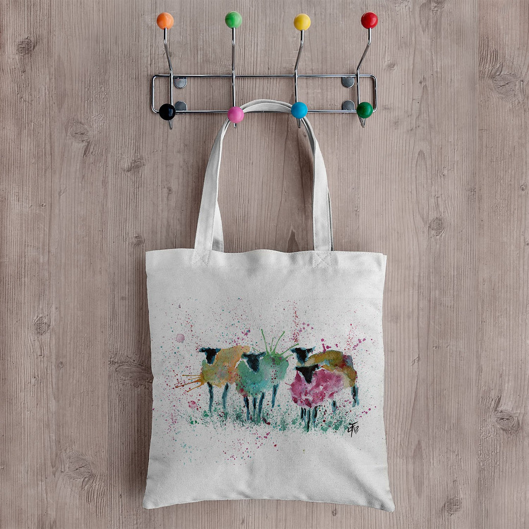 Baaaa Canvas Tote Bag