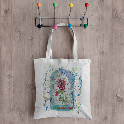 Magic Rose Canvas Tote Bag