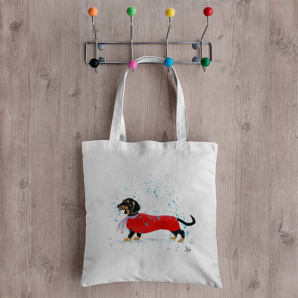 Sausage Roll Canvas Tote Bag