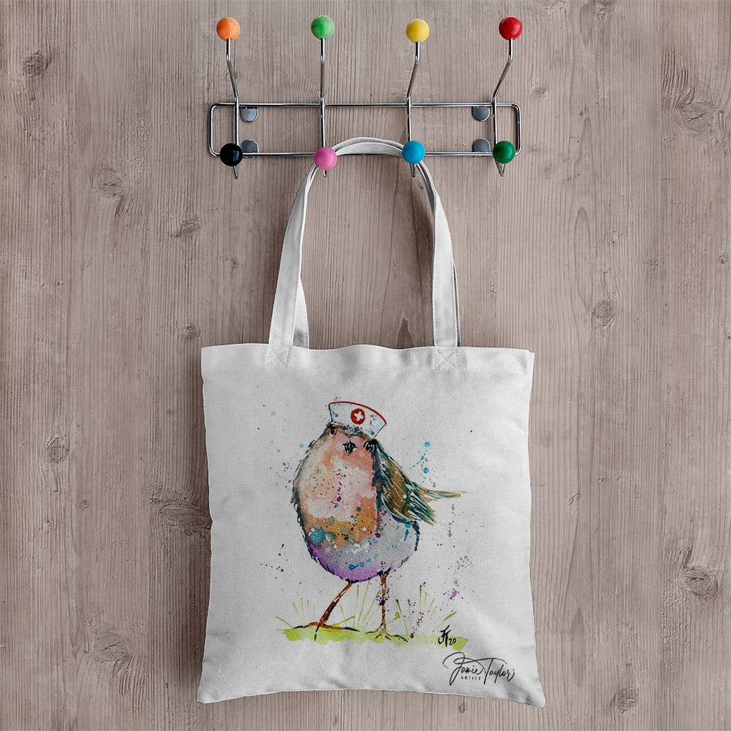 """Saviour"" Nurse Robin Canvas Tote Bag"