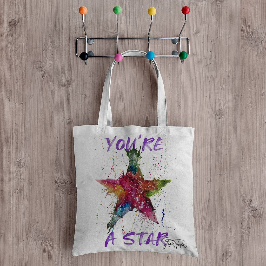 You're A Star! Canvas Tote Bag