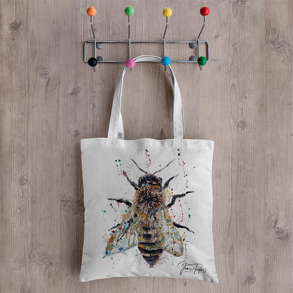 Honey Canvas Tote Bag