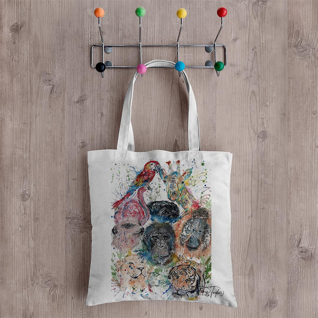Zoo Canvas Tote Bag