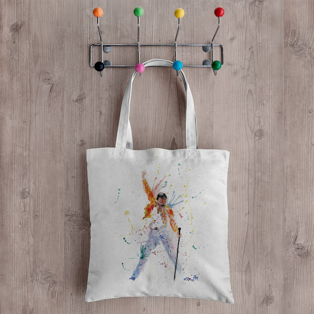 """Freddie"" Canvas Tote Bag"