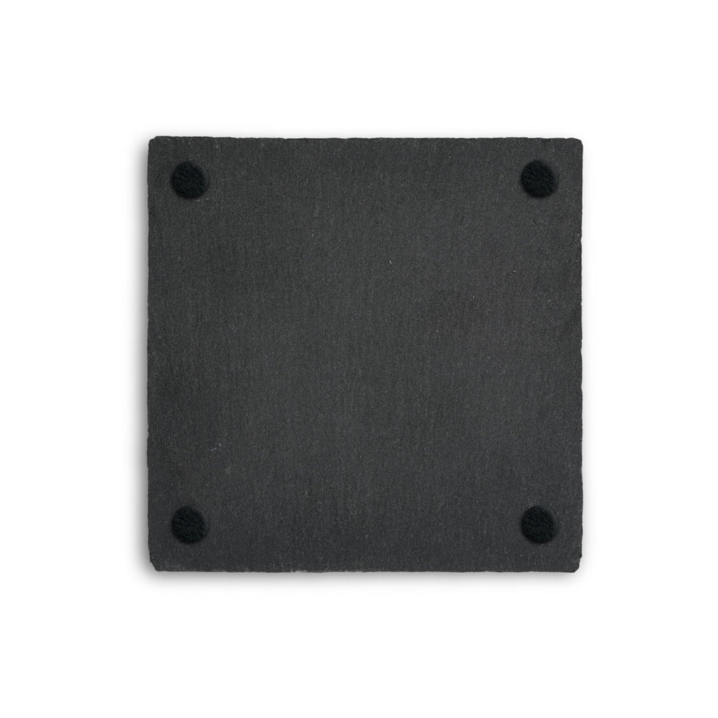 Chris the Frog Square Slate Coaster
