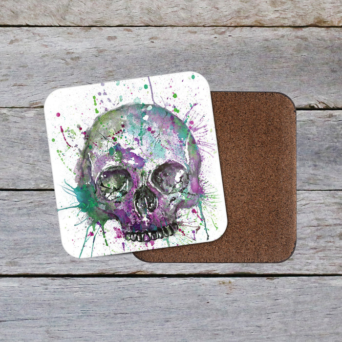 Skull Purple coaster Coaster