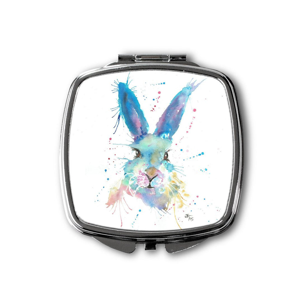 Mr Bunny Square Compact Mirror