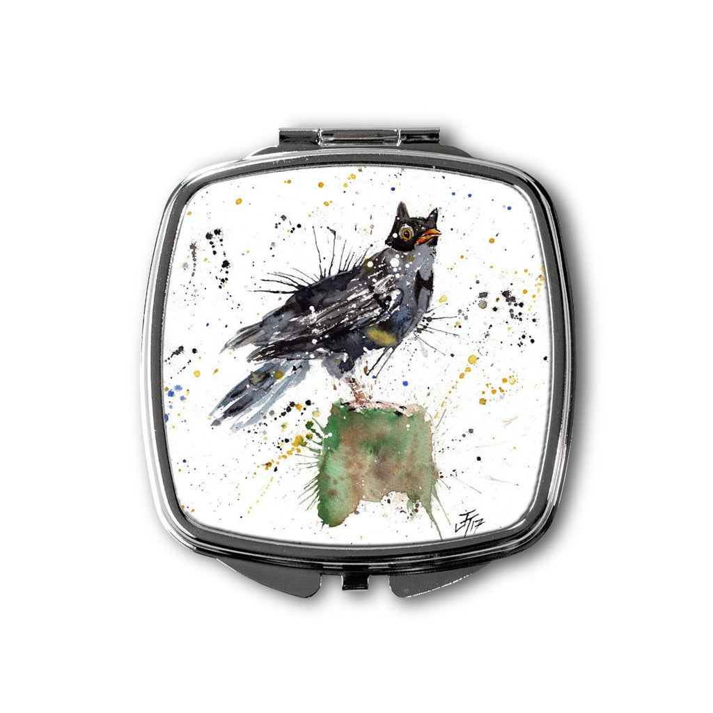 Blackbird Batman Square Compact Mirror