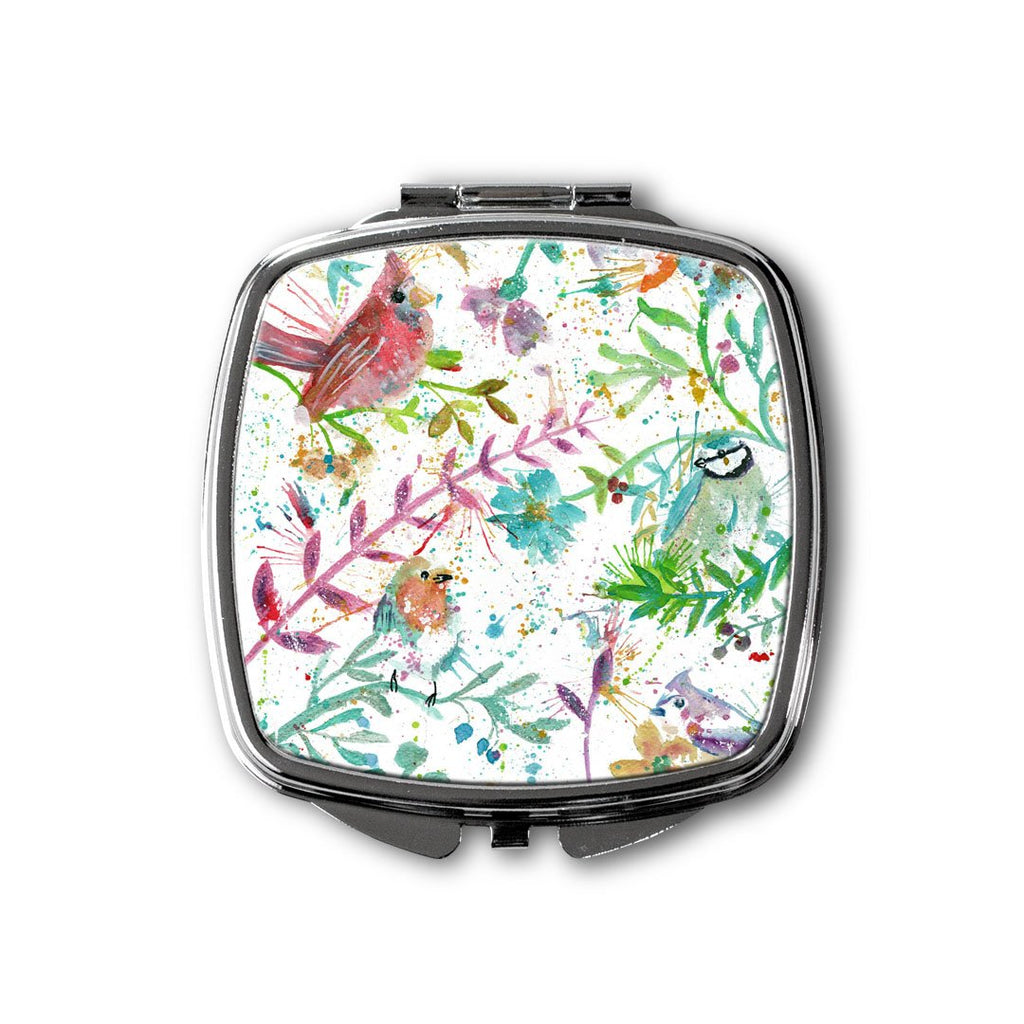 Hedgerow Square Compact Mirror