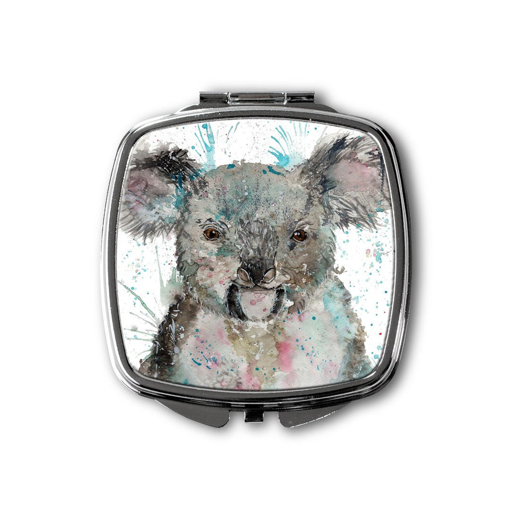 """Cookie"" Koala Bear Square Compact Mirror"
