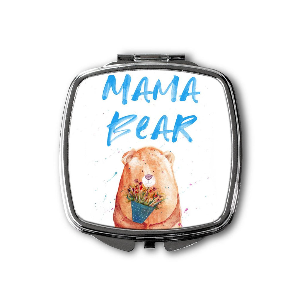 Mama Bear 2020 Square Compact Mirror