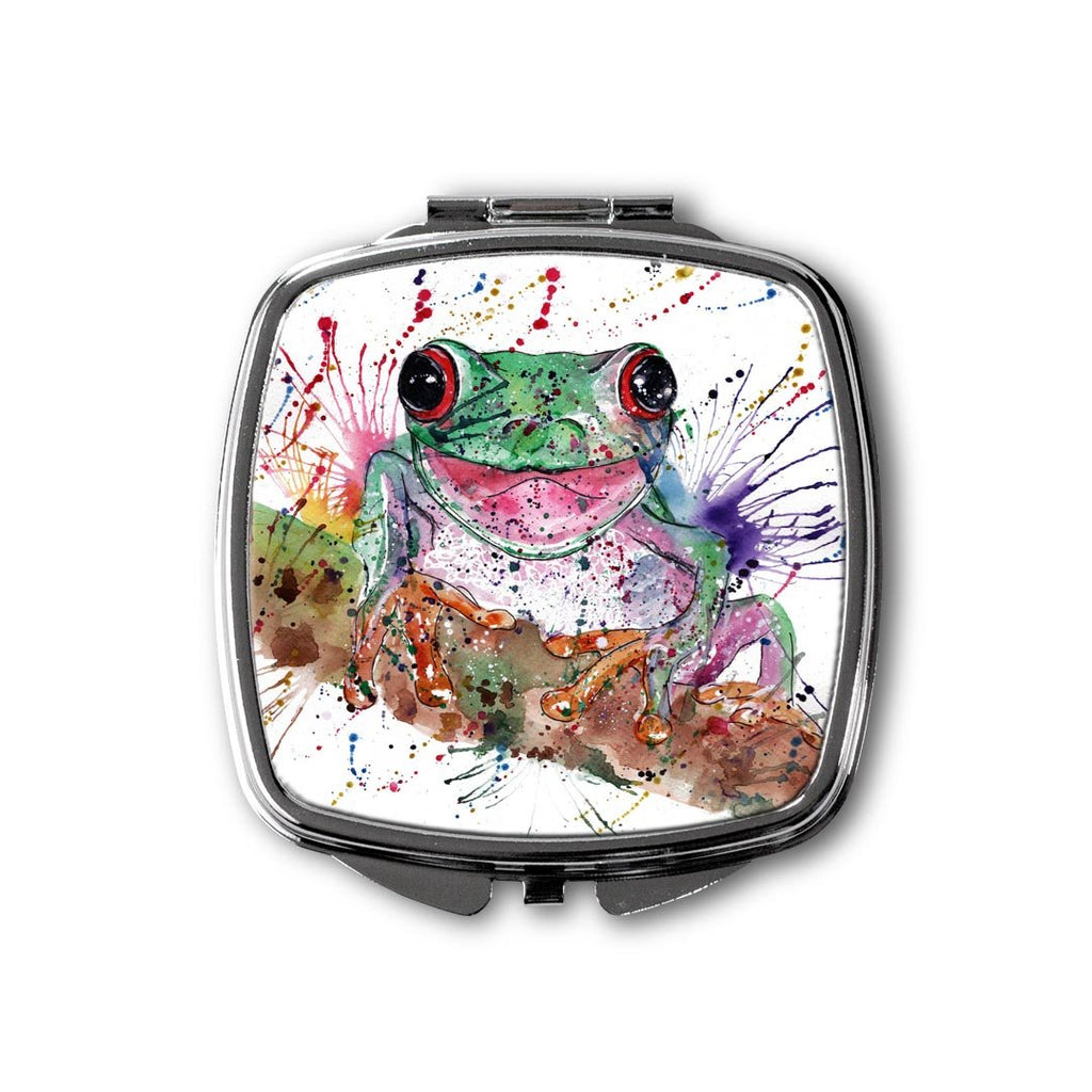 Chris the Frog Square Compact Mirror