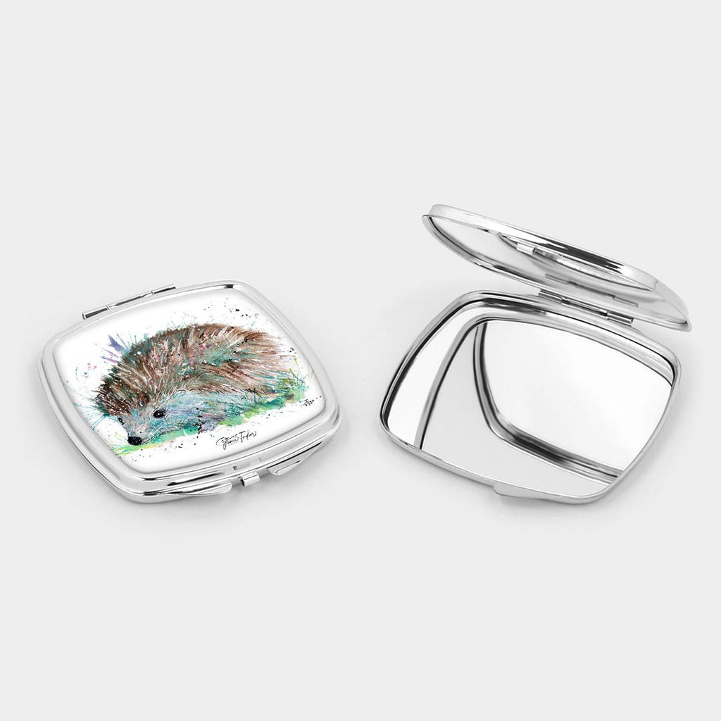 """Sweet"" Hedgehog Square Compact Mirror"