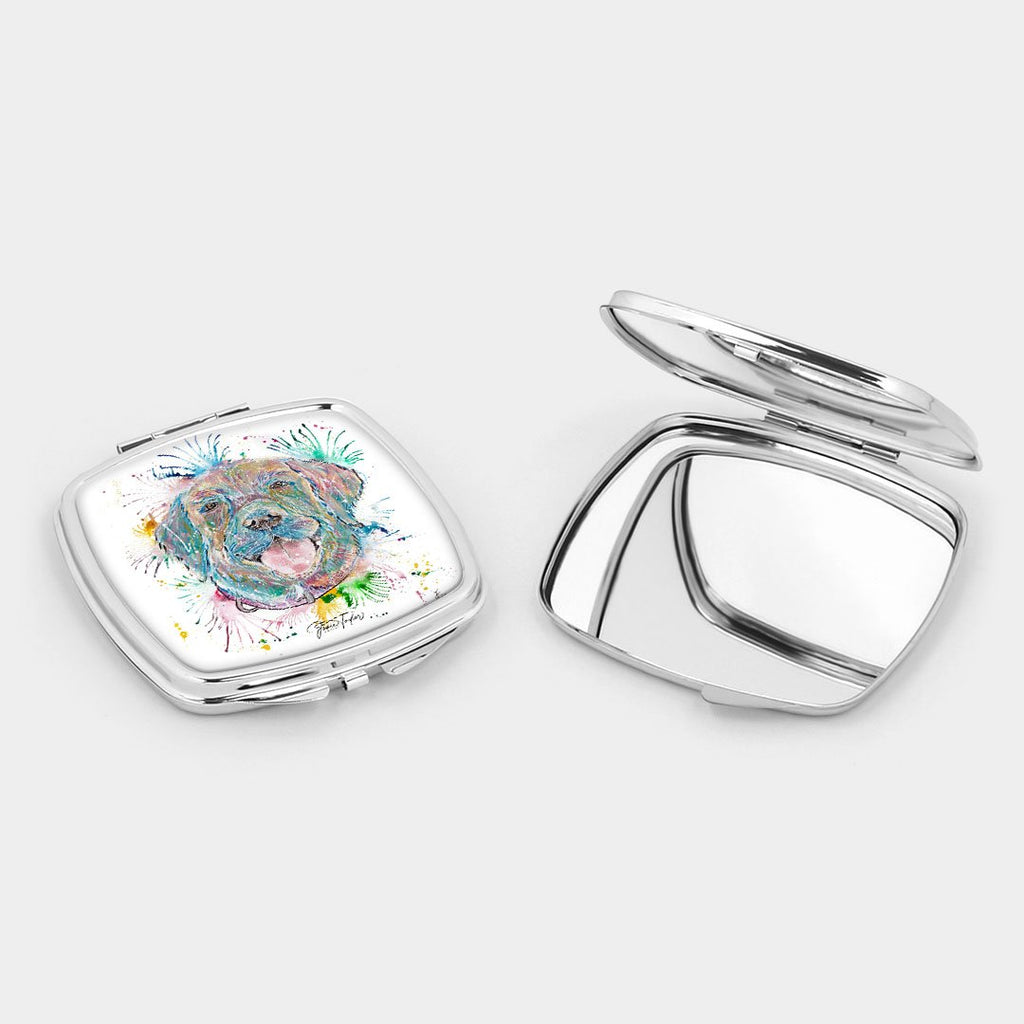 Best Friend Square Compact Mirror