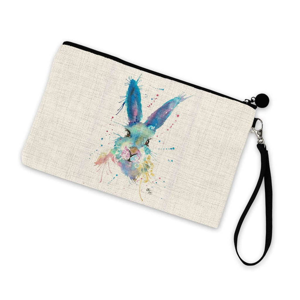 Mr Bunny Linen Cosmetic Bag